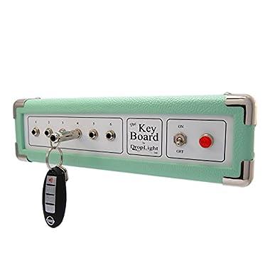 Key Holder   Key Rack   Amp Inspired. American Made   The  Key Board  - Seafoam by DropLight Ind.