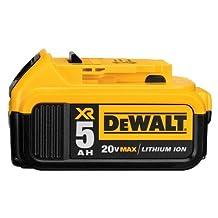 DEWALT DCB205 20V MAX XR 5.0Ah Lithium Ion Battery Pack
