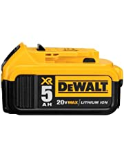 DEWALT DCB205 20V MAX XR 5.0Ah Lithium Ion Battery Pack