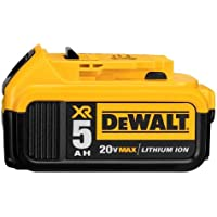 DEWALT 20V MAX XR 5.0Ah Lithium Ion Battery-Pack