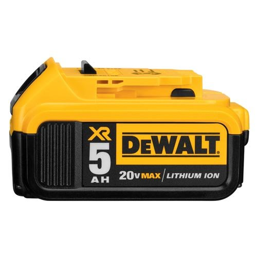 - DEWALT DCB205 20V MAX XR 5.0Ah Lithium Ion Battery-Pack
