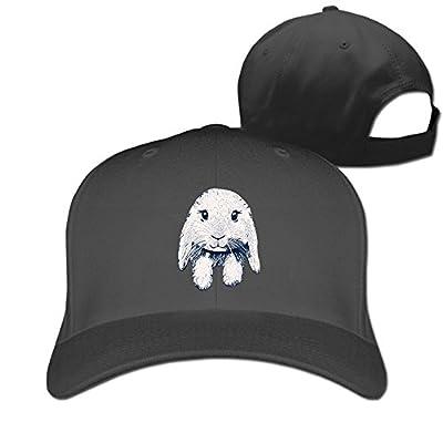 Loppy-Eared-Rabbit Designer Trucker Cap Peaked Hat Unisex Baseball Hats