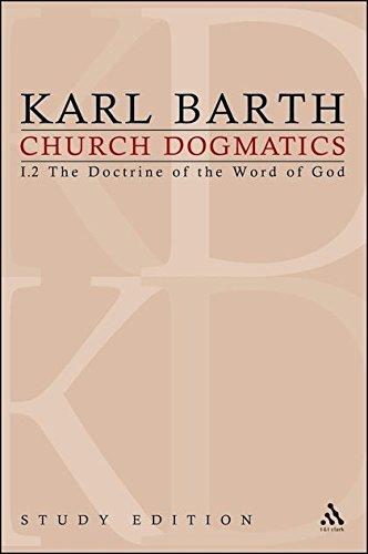 Church Dogmatics, Vol. 1.2, Sections 22-24: The Doctrine of the Word of God, Study Edition 6 pdf epub