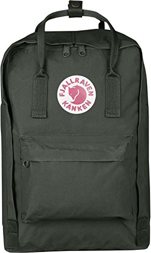 Fjallraven Kanken Laptop Backpack, Forest Green, 13-Inch