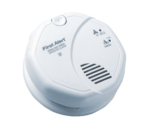 6 Pack of – First Alert SC7010B Hardwire Photoelectric Smoke and Carbon Monoxide Alarm with Battery Backup