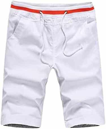 AngelSpace Mens Regular Fit Short Pants Square Leg Swimming Watershort
