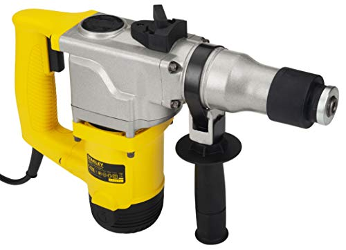 STANLEY STHR272KS 26mm 850-Watt 2 Mode L-Shape SDS-Plus 5Kg Hammer with Kitbox (Yellow and Black) 3