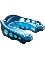 Shock Doctor Mouthguard: Gel Max Gum Shield for Football, Rugby, Basketball, Boxing and More - Includes Helmet Strap