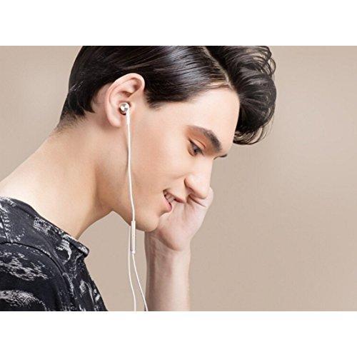 Xiaomi Mi Hybrid Earphone In-Ear Headphones Multi-unit Circle Iron Mixed Piston Earphones Gold Color