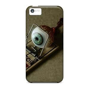 Excellent Design Eye Trap Phone Case For Iphone 5c Premium Tpu Case
