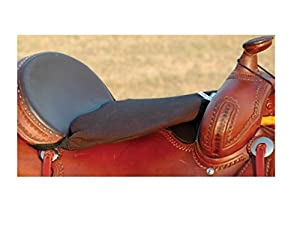 "Cashel Western Standard Tush Cushion - Size: 1/2"" or 3/4"" Foam Color: Black"