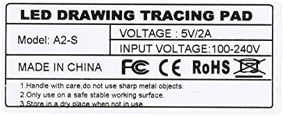 YOSOO A2 Caja de Luz de Trazado Plantilla Tablero de Dibujo de ...