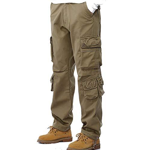 Vintage Multi Giovane Cargo Per Jogging Pantaloni Libero Uomo Khaki Con 22a In tasca Yasminey Da Tempo Nr Cotone Il Pista Cvx8qwCYt
