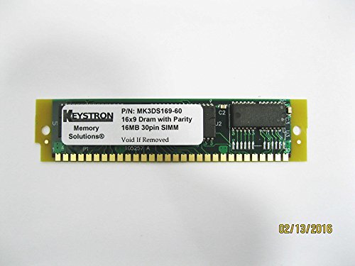 16MB 30pin SIMM RAM MEMORY with Parity 16x9 60ns for