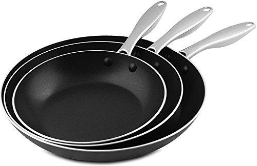3 frying pans - 5
