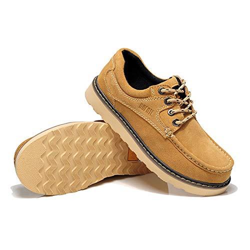 Boots Pu Autumn Size Casual Male Khaki Large Martin Shoes Men's Daily New Aimenga YUz4wqn