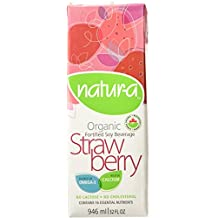 Nutrisoya Foods Natur-A Strawberry Soy Beverage 946Ml