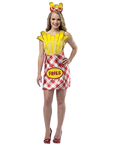 Rasta Imposta Women's Foodies French Fries Dress, Multi,