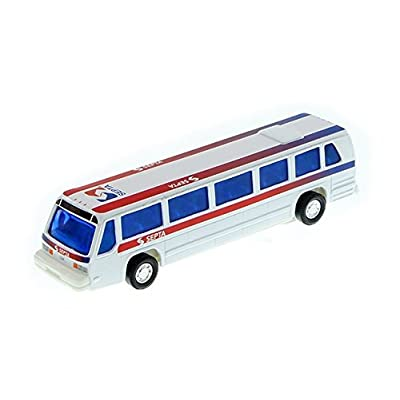 City Bus Septa Philadelphia Modern 6 inch diecast 1:64 Scale: Toys & Games