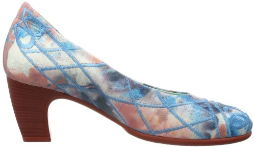 Think Heah - Cerrado de cuero mujer azul - Blau (jeans/kombi 90)