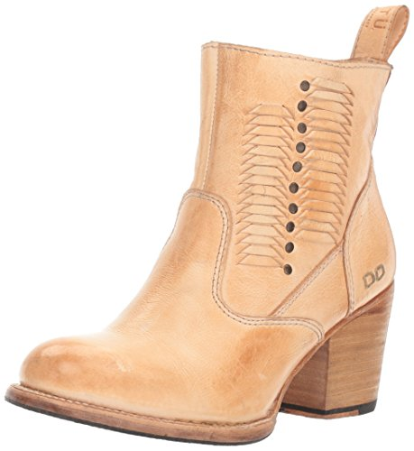 bed stu Women's Shrill Ankle Bootie Sand Rustic