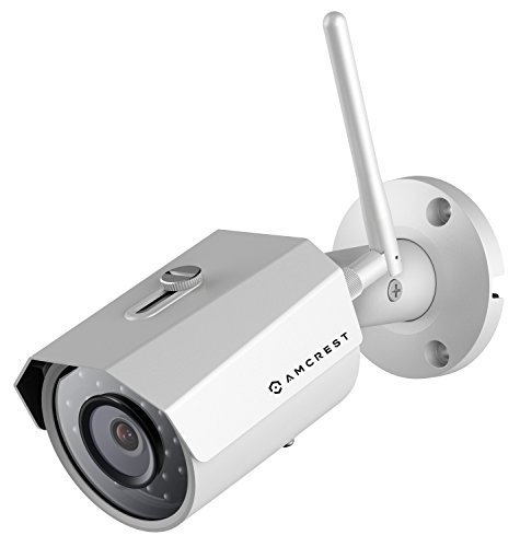 - Amcrest ProHD Outdoor 3-Megapixel (2304 x 1296P) WiFi Wireless IP Security Bullet Camera - IP67 Weatherproof, 3MP (1080P/1296P), IP3M-943W (White) (Renewed)