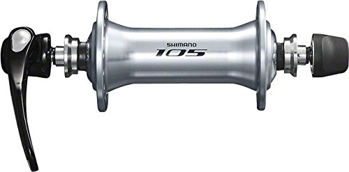 SHIMANO 105 Front Road Bicycle Hub - HB-5800 (Silver - 32H)