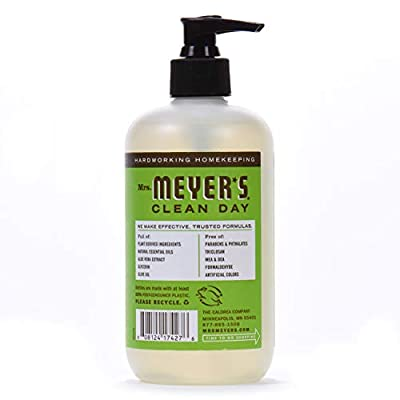 Mrs. Meyer's Clean Day Liquid Hand Soap, Apple, 12.5 Fluid Ounce