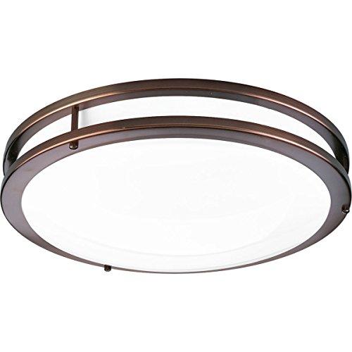 (Progress Lighting P7253-17430K9 COMM One-Light LED CTC, Urban Bronze)