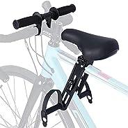 chengfang Kids Bike Seat with Handlebar Attachment, Kids Bike Seat and Handlebar, Front Mounted Child Bicycle