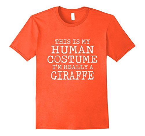 Mens GIRAFFE Halloween Costume shirt Easy for Men, Women 2XL (Grandma And Grandpa Halloween Costume)