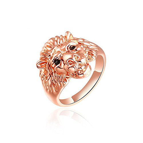 Winter.Z Noble and Elegant Ladies Jewelry Popular Rose Gold Lion