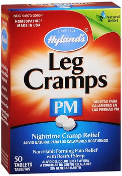 Hyland's Leg Cramps PM With Quinine Tablets 50 (Night Rest 50 Tabs)