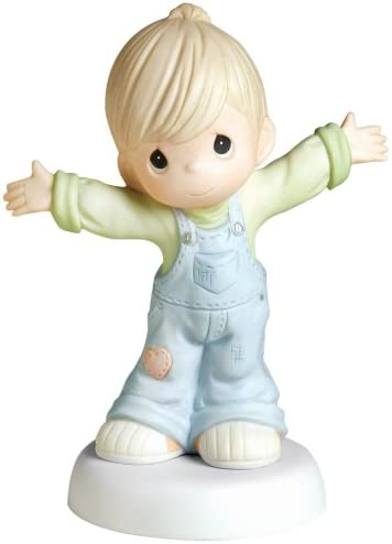 Precious Moments I Love You This Much Figurine, Boy