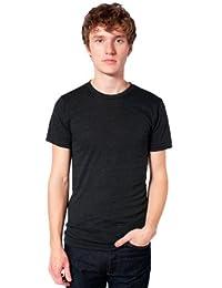 American Apparel Men's Unisex Tri-Blend Short Sleeve Track Shirt