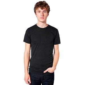 Best Epic Trends 41XtQePvNxL._SS300_ American Apparel Men's Tri-Blend Short Sleeve Track Shirt