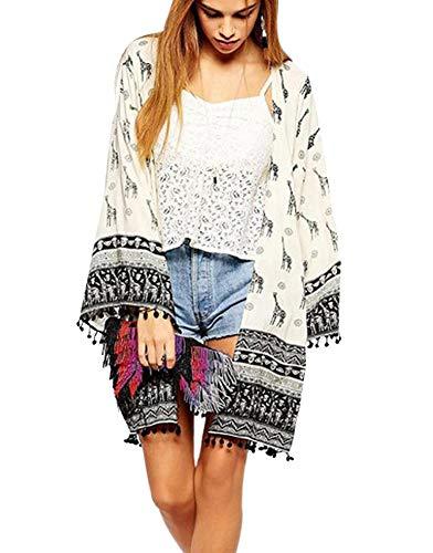 Women's Light Weight Cotton Cardigan Sweater Open Front Cardigan Coat Outwear X-Large