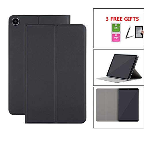 Sodoop Case for Xiaomi Mi Pad Mipad 4 8.0 Inch, Lightweight Magnetic Smart Shell Flip Leather Case Stand Cover with Cleaning Kit +Touch Screen Pen+ HD Screen Protector Film Set