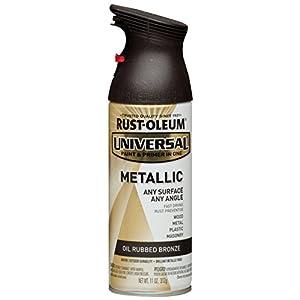 Rust-Oleum 249131 11 oz Universal All Surface Spray Paint, Oil Rubbed Bronze Metallic