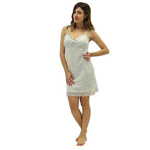 Versace 19.69 - Camicia Da Notte 27-9181V per donna senza maniche 100% cotone - taglia S