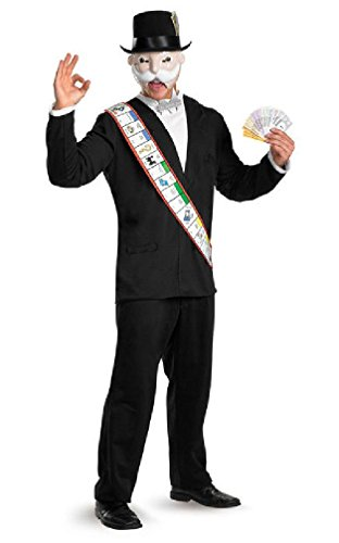 8eighteen Monopoly Deluxe Adult Halloween Costume