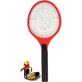 b757710384a6da AsisNai Electric Fly Swatter Bug Zapper Mosquito Killer - 3000 Volt Zap  Racket
