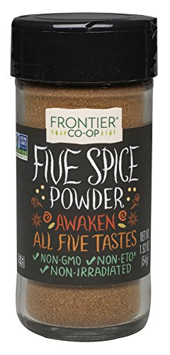 Frontier Five Spice Powder, 1.92-Ounce Bottle