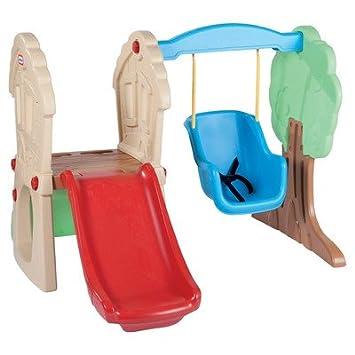 Amazon.com: Toddler Swing Set Swing N Slide Infant Swings Indoor ...