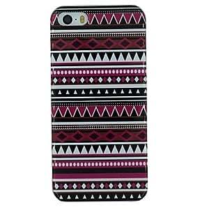 GDW patrón de estilo popular profundo material de TPU caso de la contraportada suave para el iphone 5 / 5s