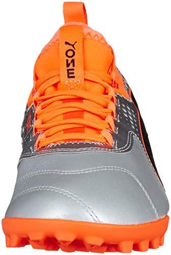 3 puma Silver 01 Black shocking Tt Orange Calcio Argento One Lth Puma Uomo Da puma Scarpe 6vx5Z1wz