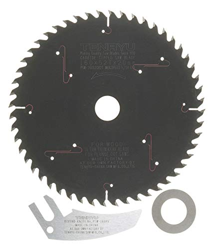 Tenryu PSW-16052CB2TK 160mm Plunge-Cut Saw Blade 52T for FESTOOL TS55 (Tenryu Saw Blade For Festool)