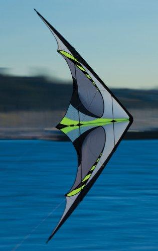 Prism E3 Dual-line Stunt Kite, Graphite by Prism Kite Technology