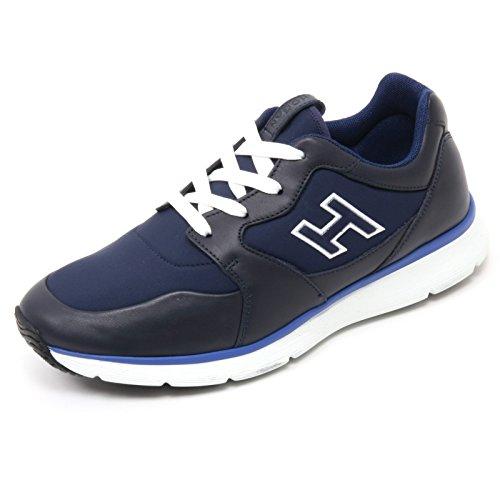 H uomo 15 HOGAN B7132 blu TRADITIONAL flock sneaker man Blu shoe 20 scarpa Zx0waq