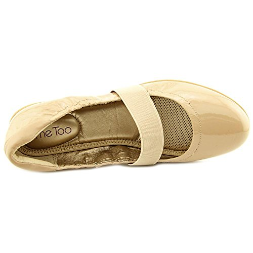 Anche Io Le Donne Harlow2 Mary Jane Flat Driftwood Vernici Patent / Symphony Sheep Napa